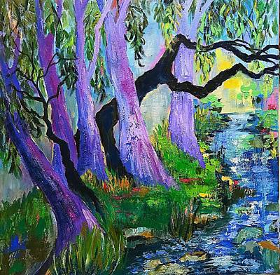 Painting - The Grove by Esther Woods