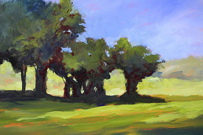 Painting - The Grove by Nancy Merkle