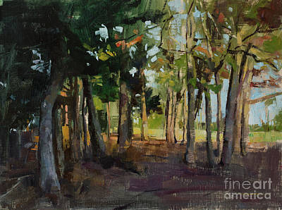 Wall Art - Painting - The Grove by Patrick Saunders