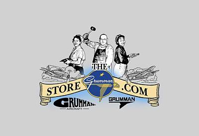 Painting - The Grumman Store by The Grumman Store