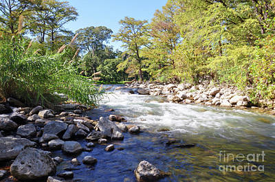 Photograph - The Guadalupe At Gruene by Savannah Gibbs
