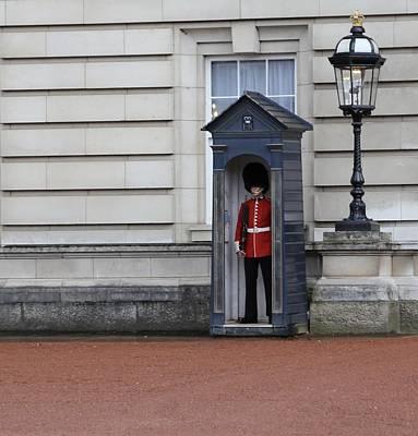 The Guard At Buckingham Palace Art Print