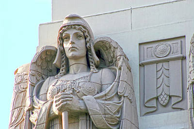 Photograph - The Guardian Angel On Watch by Ken Wood