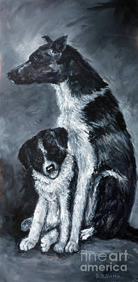Painting - The Guardian by Deborah Smith