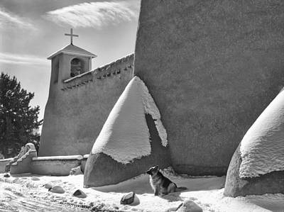 Photograph - The Guardian  Ranchos De Taos by Nathan Mccreery