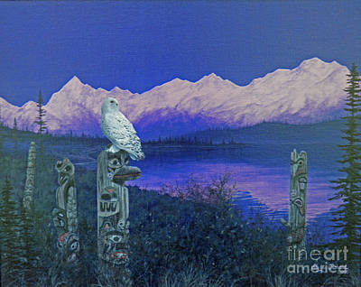 Painting - The Guardian by Sherry Orchard