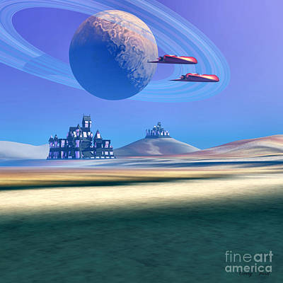 The Guardians Art Print by Corey Ford