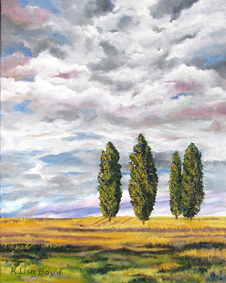 Painting - The Guardians by Lisa Boyd