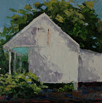 Painting - The Guest House by Barbara Jones