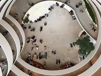 Photograph - The Guggenheim Where Is Waldo by Patricia E Sundik