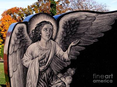 Photograph - The Guiding Angel by Ed Weidman
