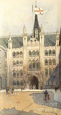 Tim Painting - The Guildhall by MotionAge Designs