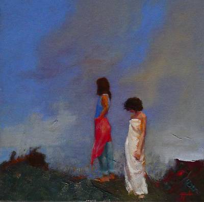 Painting - The Guilt by Irena Jablonski