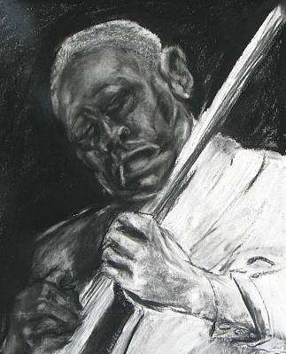 The Guitar Player Art Print by Patrick Mills