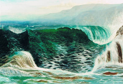 The Gulf Art Print by Brett McGrath