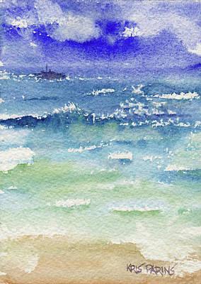The Gulf Art Print by Kris Parins