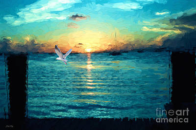 Painting - The Gull by Judy Kay