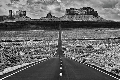 Navajo Nation Photograph - The Gump Stops Here by Darren White