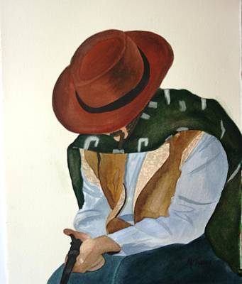 Painting - The Gunman by Michele Turney