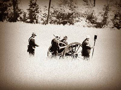 Gettysburg Photograph - The Guns Of Gettysburg by Bill Cannon