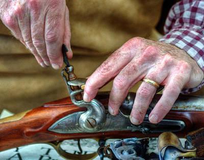 Photograph - The Gunsmith 001 by Jeff Stallard