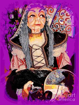 Photograph - The Gypsy Fortune Teller by Ed Weidman