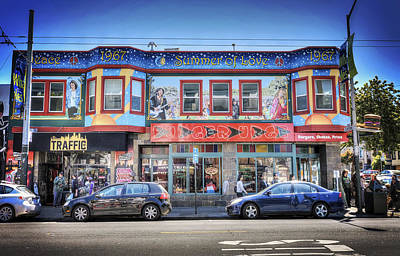 The Haight - Burger Urge - San Francisco Art Print by Jennifer Rondinelli Reilly - Fine Art Photography