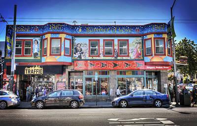 The Haight - Burger Urge - San Francisco Art Print