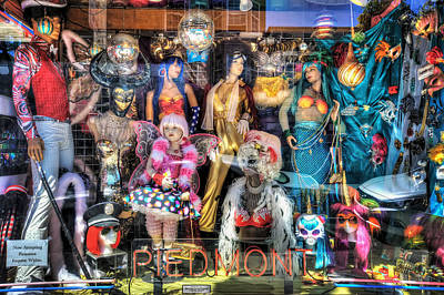 The Haight - Piedmont Boutique Window Mannequins - San Francisco Art Print