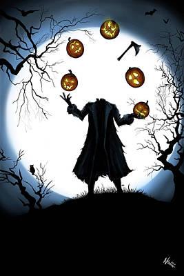 Digital Art - The Halloween Hessian by Norman Klein