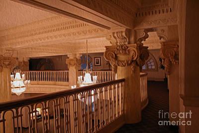 Victorian Photograph - The Hallway by Cheryl Aguiar