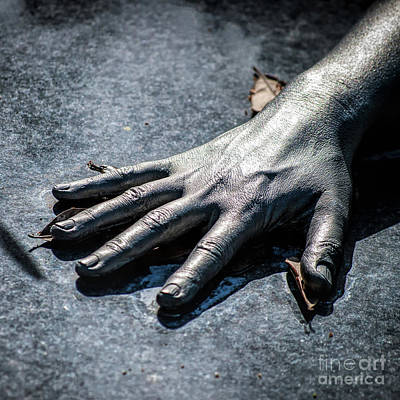 Photograph - The Hand Squared by Kathleen K Parker