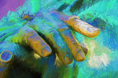 Abstract Digital Photograph - The Hand That Feeds You by Paul Wear