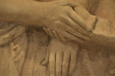 Photograph - The Hands That Hold Us by Nadalyn Larsen