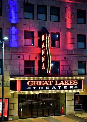 Photograph - The Hanna Great Lakes Theater by Frozen in Time Fine Art Photography