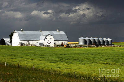 Photograph - The Happy Barn by Bob Christopher