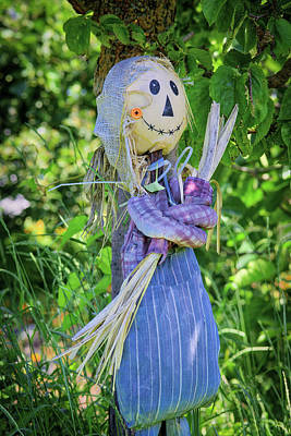Photograph - The Happy Scarecrow by Keith Boone