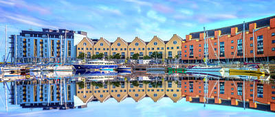 Photograph - The Harbor At Galway by Debra and Dave Vanderlaan
