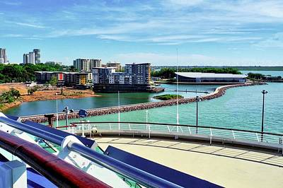 Photograph - The Harbor In Darwin by Kirsten Giving