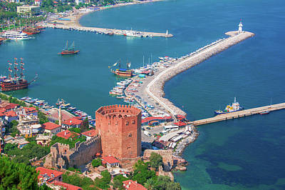 Photograph - The Harbor Of Alanya by Sun Travels