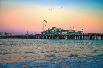 Photograph - The Harbor Restaurant by Lynn Bauer