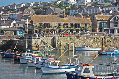 Photograph - The Harbour Inn Porthleven by Terri Waters