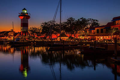 Wall Art - Photograph - The Harbour Town by Cliff Middlebrook