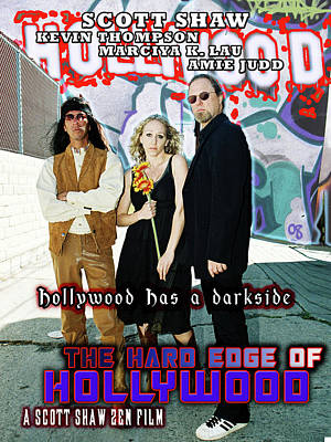 Photograph - The Hard Edge Of Hollywood by The Scott Shaw Poster Gallery