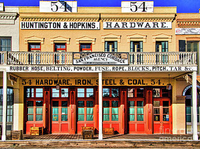 Photograph - The Hardware Store by Mitch Shindelbower