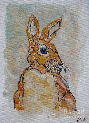 Painting - the Hare by Ella Kaye Dickey