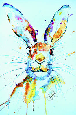 Art Print featuring the painting The Hare by Steven Ponsford