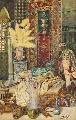The Harem Art Print