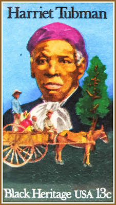 Harriet Tubman Painting - The Harriet Tubman  by Lanjee Chee