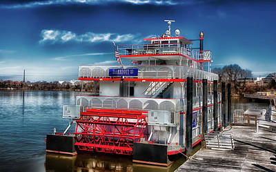 Photograph - The Harriott II Riverboat by L O C